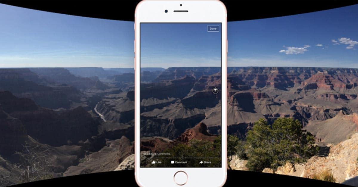 Deslumbra a tu seguidores en Facebook con Fotos en 360°