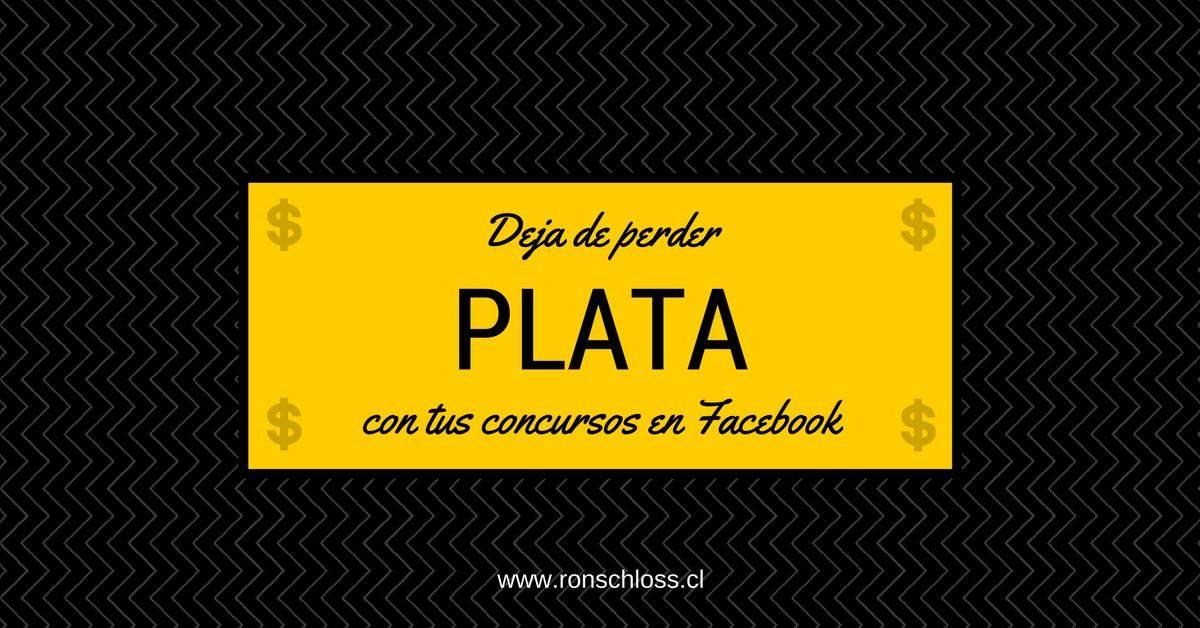 Deja de perder plata con tus concursos en Facebook