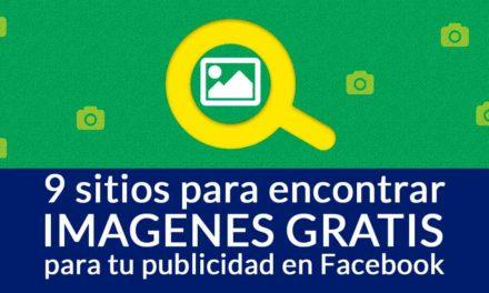 9 sitios para encontrar imágenes gratis para tu publicidad en Facebook