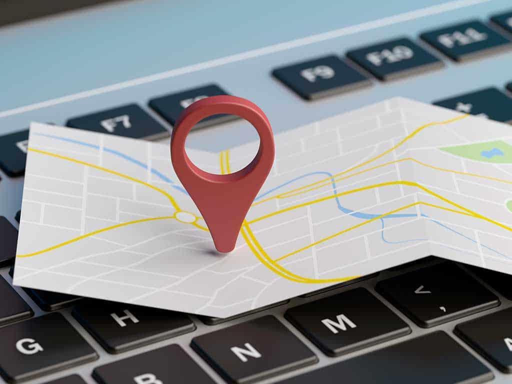 Dirección Mapa