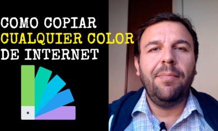 [Video] Cómo copiar cualquier color de una página de internet